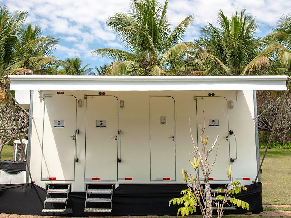 WChic Aluguel de Banheiros para Eventos